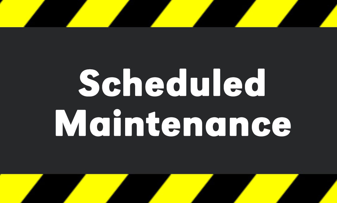 RINK MAINTENANCE 28-30 OCTOBER