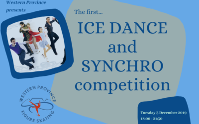 ICE DANCE AND SYNCHRO COMPETITION – 03 DECEMBER 2019