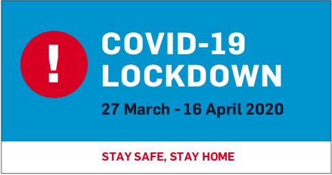 SA LOCKDOWN – COVID-19