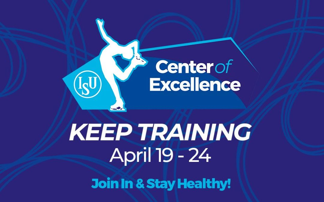 "ISU CENTERS OF EXCELLENCE OFFER THE ""KEEP TRAINING!"" SERIES"