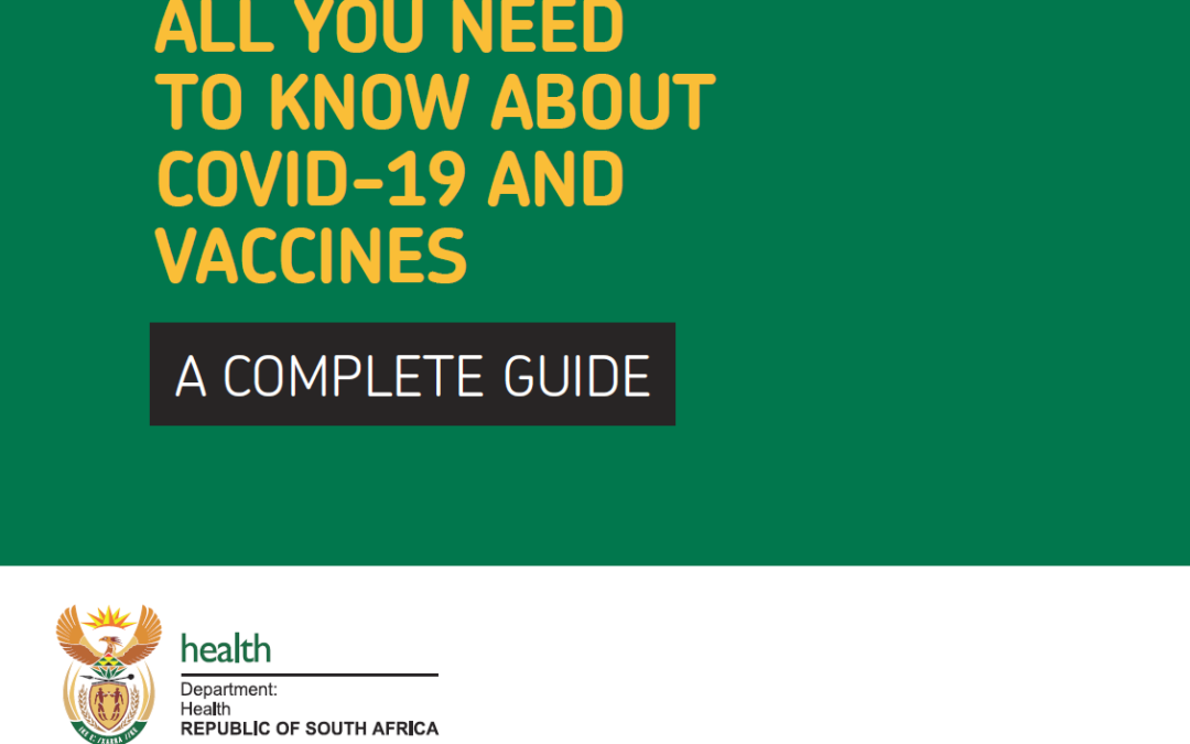 SA DEPARTMENT OF HEALTH INFORMATION BOOKLET
